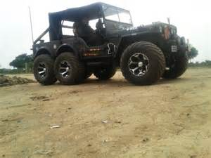 Modefied Jeep A Modified Version Of Willys Jeep Now Converted Into A 6x6