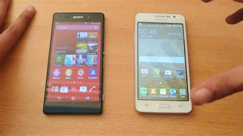 Hp Samsung Galaxy Z2 samsung galaxy grand prime vs sony xperia z2 review hd