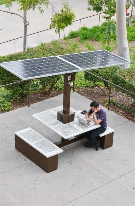 solar bench csulb installs new energizing source daily 49er