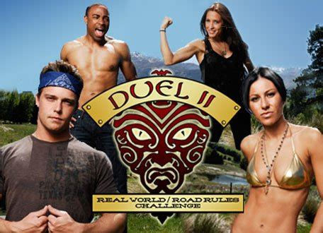 the challenge duel 2 episodes the real world road challenge tv series mtv