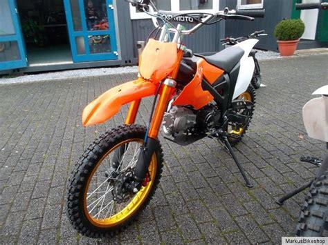 Enduro Kindermotorrad by Pitbike Dirtbike Crossbike 125ccm 4 Takt Motor Enduro