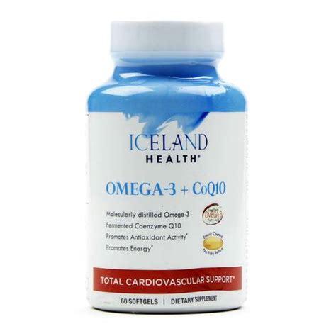 the best iceland omega 3 supplement formula quadruple iceland health omega 3 plus coq10 60 softgels