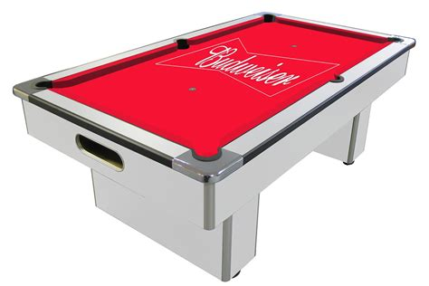 of leisure pool table review budweiser slate bed pool table 6 ft 7 ft liberty