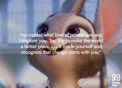 9 best inspirational quotes from zootopia moviepilot