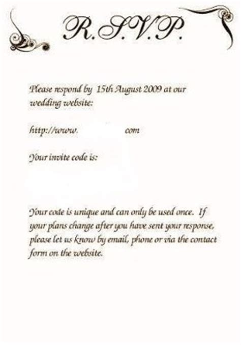 wedding invitation wording rsvp email response wording for a rsvp weddings etiquette