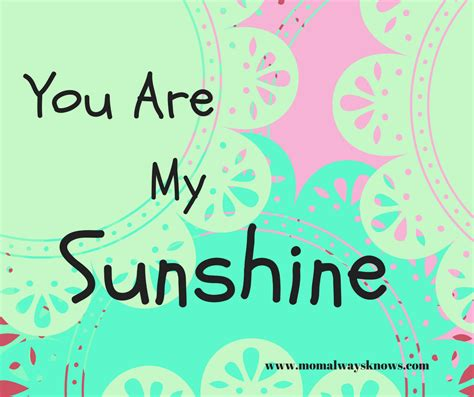 you are my sunshine bedroom you are my sunshine printable in aqua adorable printable
