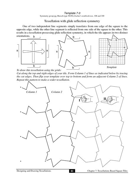 tessellation worksheets tessellations worksheet photos getadating