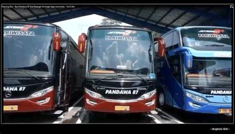 membuat video gif di wa transportasi bus pandawa 87 dan wonderful indonesia