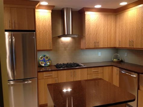exotic wood kitchen cabinets contemporary anigre exotic wood kitchen contemporary