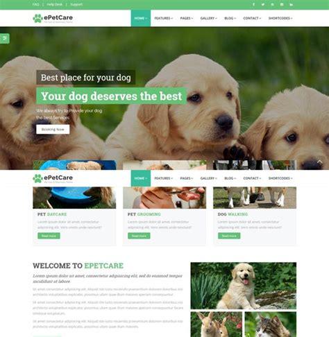 40 Best Animal Pet Website Templates Free Premium Freshdesignweb Pet Care Website Templates