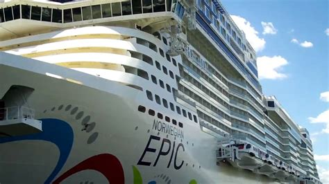 ncl epic lifeboats norwegian epic and lifeboats youtube
