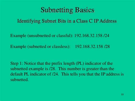 subnetting tutorial class a subnetting basics tutorial