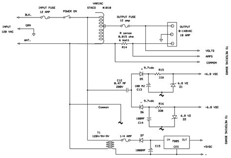 variac transformer wiring diagram k
