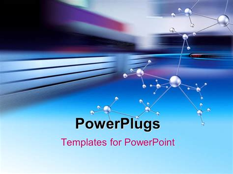templates powerpoint powerplugs powerpoint template a number of bonds with multicolored