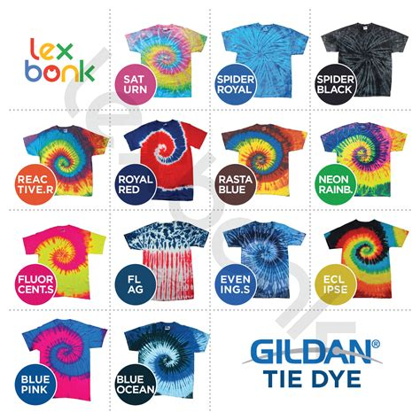 Kaos Gildan Tshirt jual kaos polos gildan tie dye s m l xl lexbonk