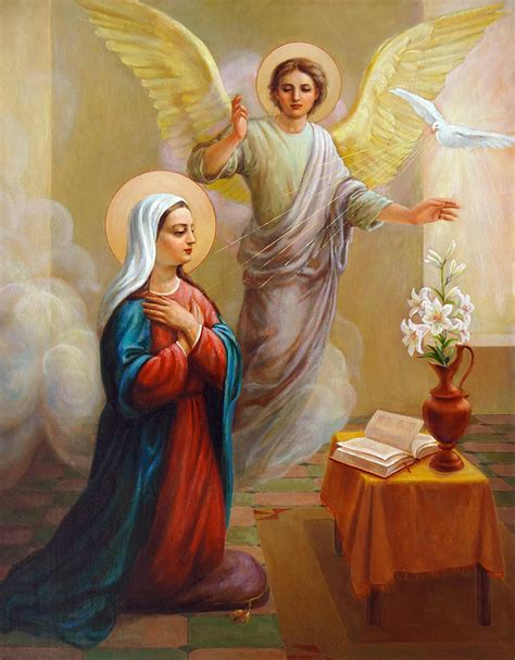 angelus paint thailand annunciation to the blessed painting by
