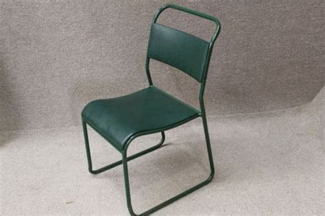 vintage padded stacking chairs padded stacking chair an original 1950 s tubular steel