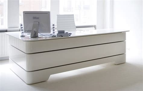 modern white office desk stylish modern executive desk for office and home office