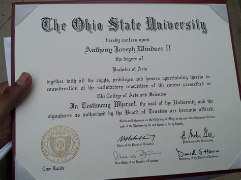 Does Ohio State An Mba Program by My Last Name Now Technically Has A Comma And Letters After