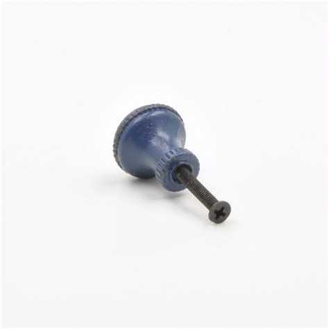 Tiny Knobs Small Blue Vintage Knobs Blue Metal Jewellery