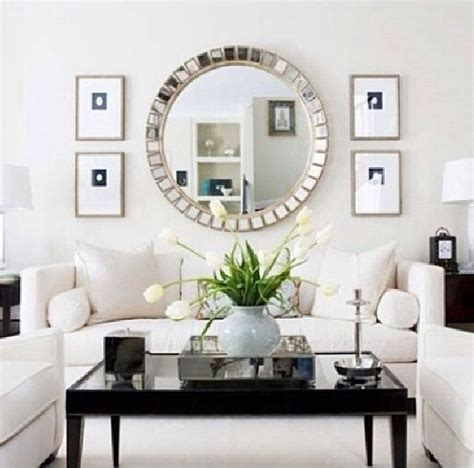 beautiful oversized mirror living room mirror living rooms and white living rooms on pinterest