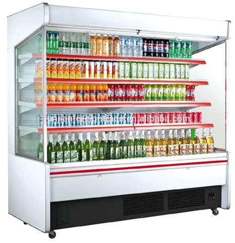 Kitchen Cabinet Factory Hg 20f Vertical Supermarket Open Showcase Refrigerator