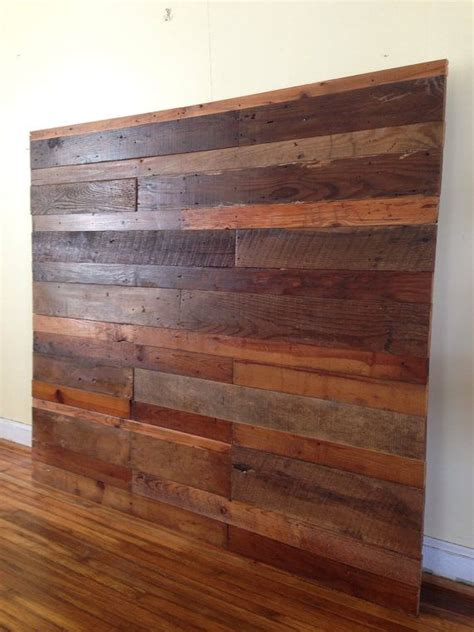 Reclaimed Wood Headboard Diy 1000 Ideas About Reclaimed Wood Headboard On Pinterest Wood Headboard Headboards And Diy