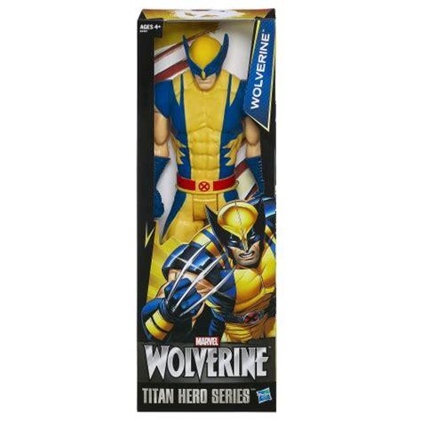 marvel titan hero series marvel wolverine titan hero series wolverine figure
