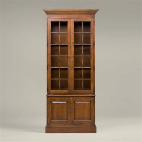 Library Cabinets Bookcases collector s classics villa single library bookcase traditional bookcases by ethan allen