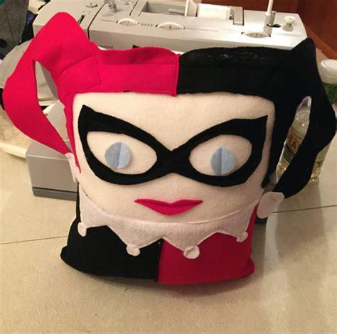 Harley Quinn Pillow by Home Geekonomics Harley Quinn Nerdist