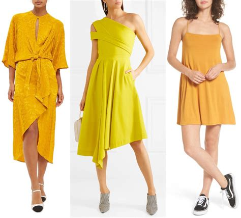 what color to wear to an what color shoes to wear with a yellow dress