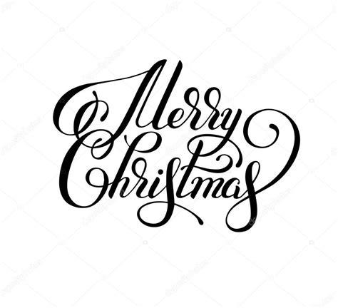 imagenes de merry christmas en blanco y negro inscripci 243 n de mano blanco y negro letras feliz navidad