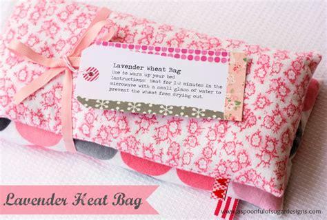 diy heat pack lavender heat bag a spoonful of sugar