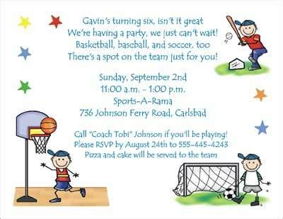invitation wordings for sports event sport invitation card paperinvite