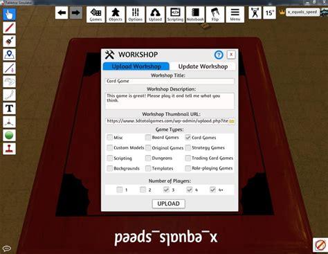 tabletop simulator card uploader template creating a tabletop simulator mod greg s design