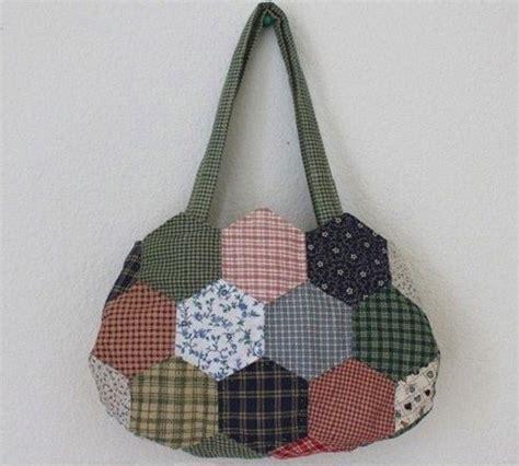 tutorial merajut pakaian tutorial membuat tas patchwork hexagon dari kain perca