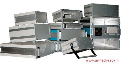 armadi modulari contenitori per elettronica in alluminio piegato