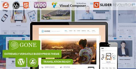 wordpress theme editor gone 25 best responsive buddypress themes 2017 designmaz