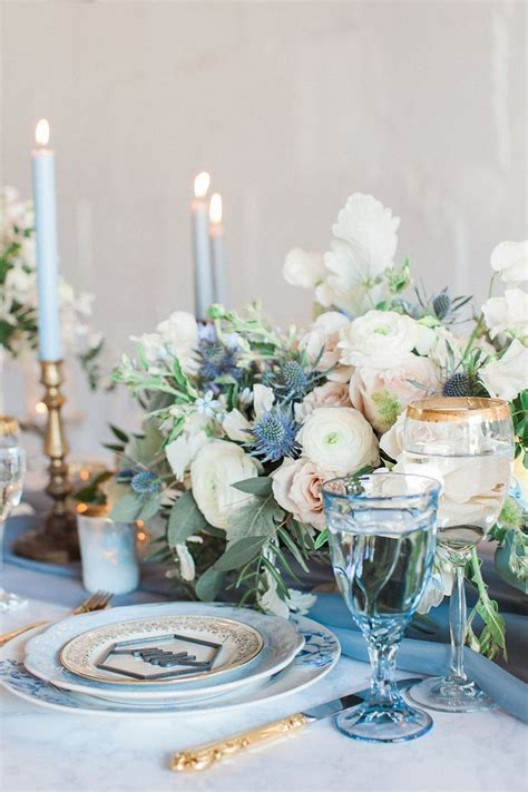 French Provencal Wedding Inspiration with Geometric