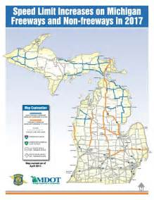 speed limit map michigan speed limit increase personal injury firm