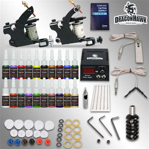 tattoo kit professional aliexpress com buy professional tattoo kit 2 guns