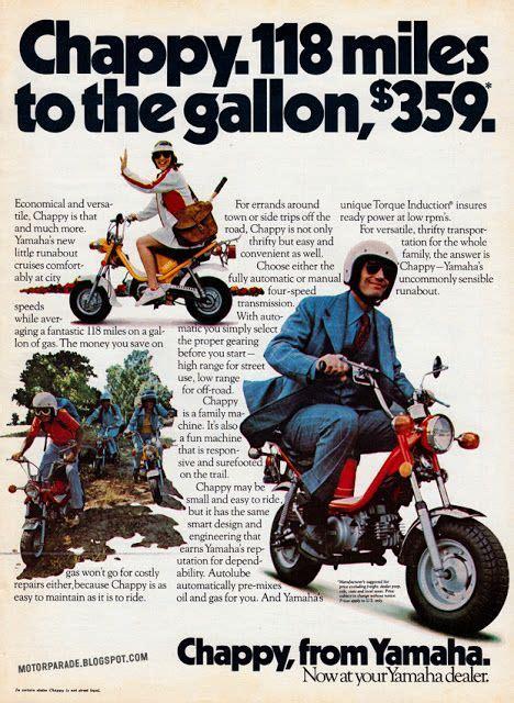 Yamaha Motorrad Usa by Yamaha Chappy Usa 1975 The Hot Rod Pinterest
