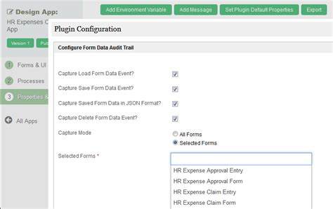 workflow web app joget workflow v5 form data audit trail