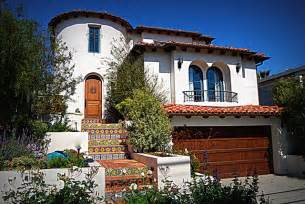Rugs For Front Entrance Spanish Revival Traditional Exterior Los Angeles By Mark Trotter Trotter Building