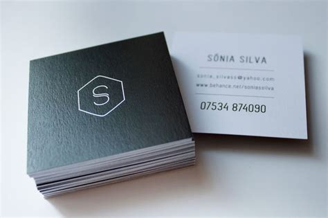 Square Business Card Ideas 25 best ideas about square business cards on