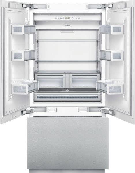 36 inch door refrigerator 36 inch built in door bottom freezer contemporary