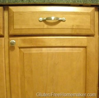 Keeping A Clean Kitchen Cabinet Doors Gluten Free Homemaker Clean Cabinet Doors