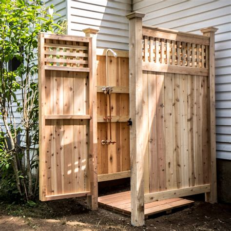 make this 5 outdoor showers you can make today man made
