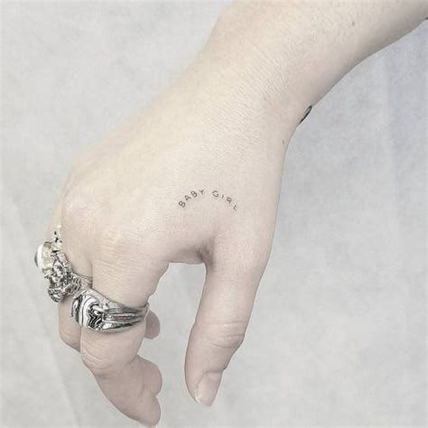 baby girl tattoo designs 25 best ideas about single needle on