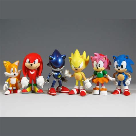 y figures sonic the hedgehog mini figure knuckles